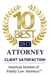 10 Best Attorney Client Satisfaction Award - Family Law Attorneys